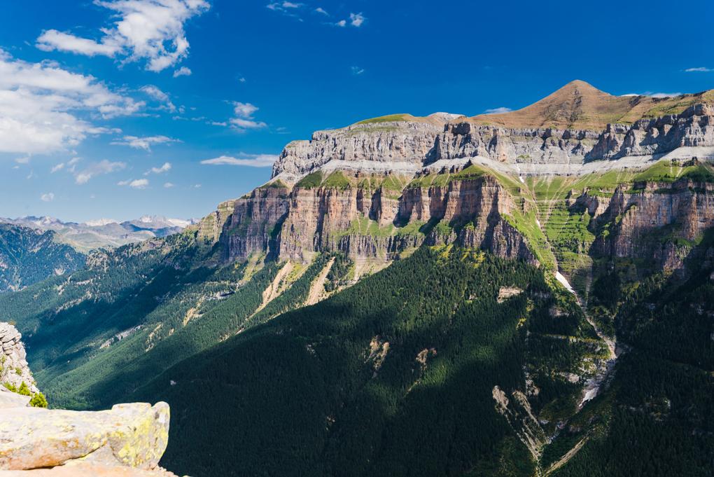 No es Yosemite, es el Parque Nacional de Ordesa y Monte Perdido.