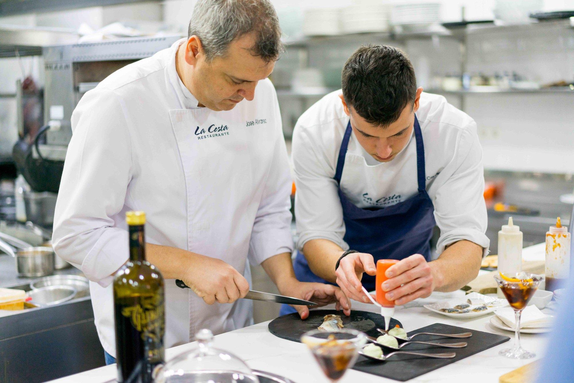 El chef defiende una cocina de producto y tradición. Foto: Javier Lozano / Maquinaria Creativos