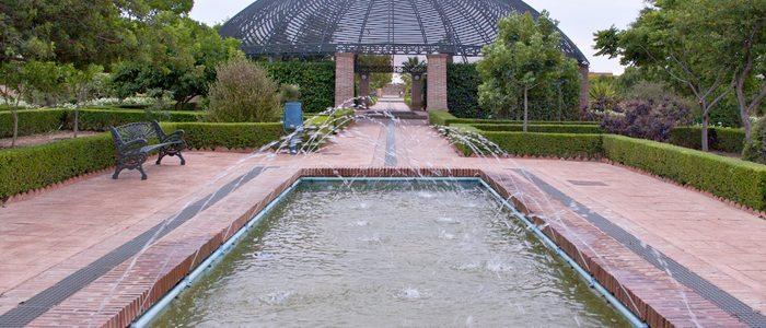 Jardín Botánico de la Universidad de Málaga.