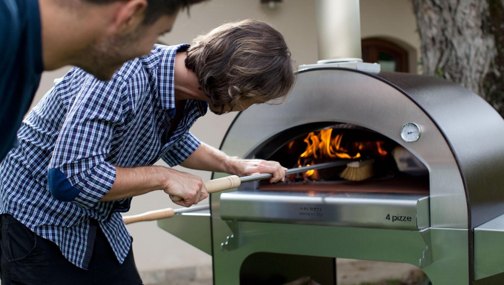 Una pizza en la terraza sin necesidad de pasar por la cocina.