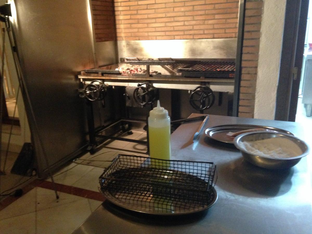 Aquí huele a casa parrilla guipuzcoana. Foto: M.R.