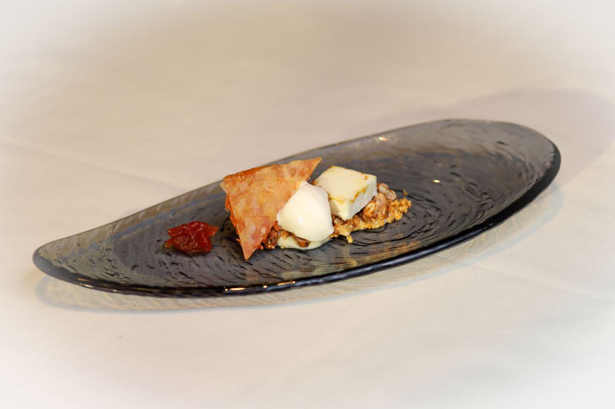 Degustación de quesos en diferentes texturas.