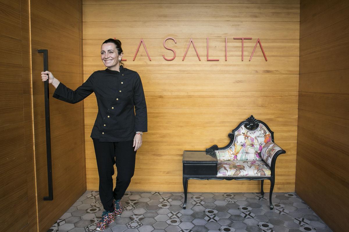 Begoña Rodrigo, alma de 'La Salita'