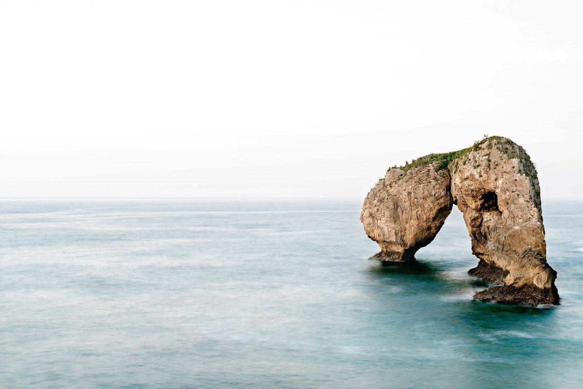 La playa de Cuevas del Mar.