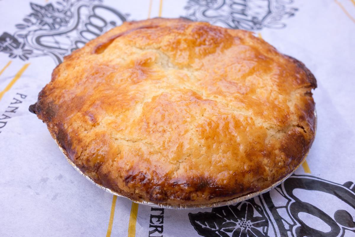 Un delicioso pastel de Cierva. Foto: Ramón Peco y Manuel Martínez.