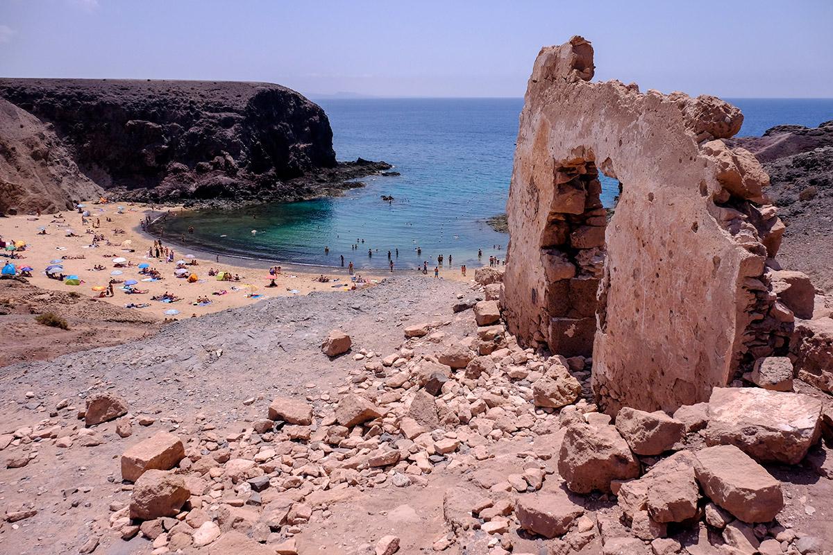 Playa del Papagayo. Lanzarote.
