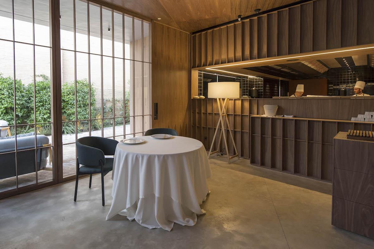 El 'Ricard Camarena Restaurant' multiplica por seis el espacio del anterior restaurante. Foto: cedida.