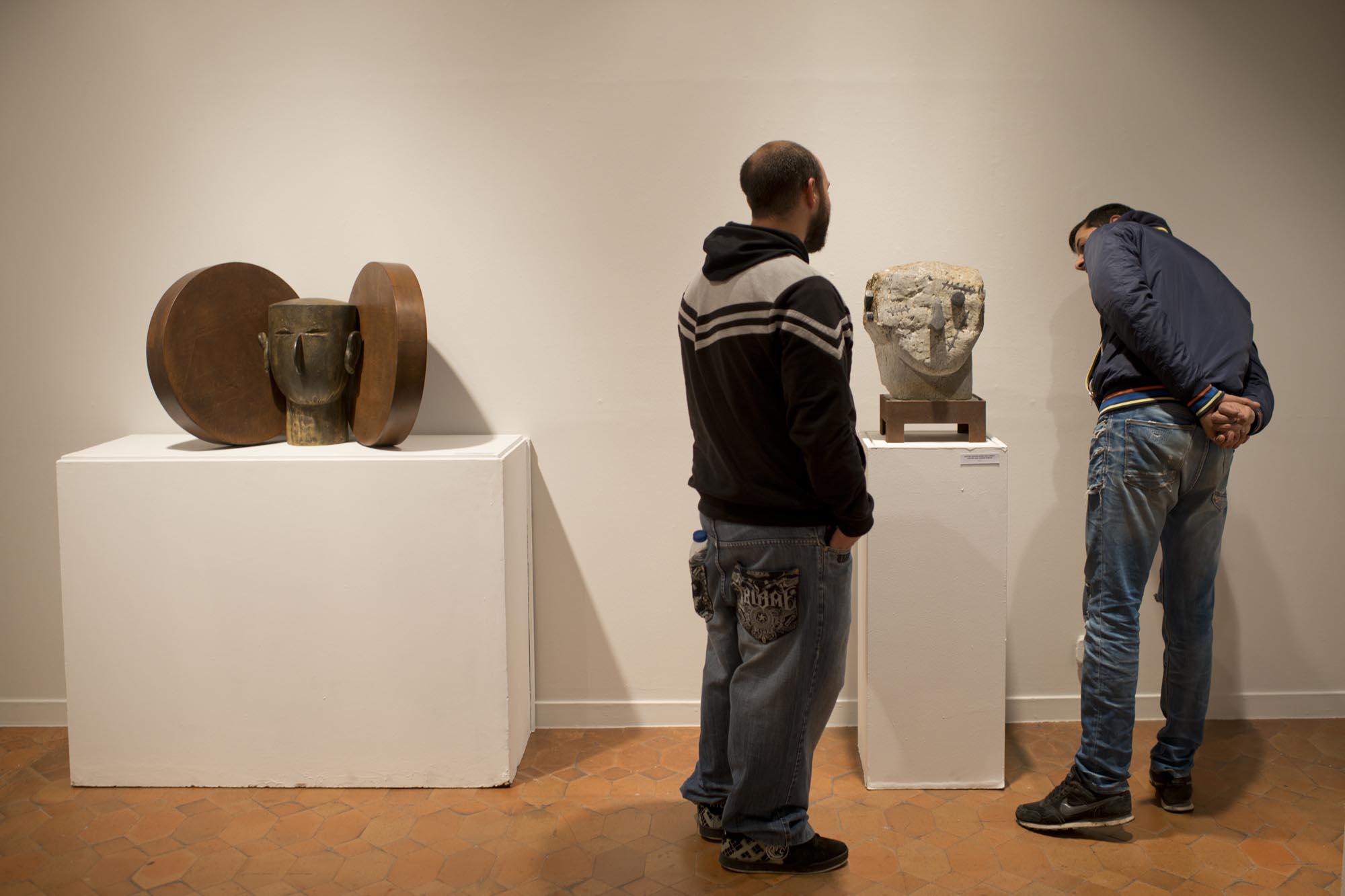 La exposición de Eduardo Arroyo en el Torreón Lozoya. Magia.
