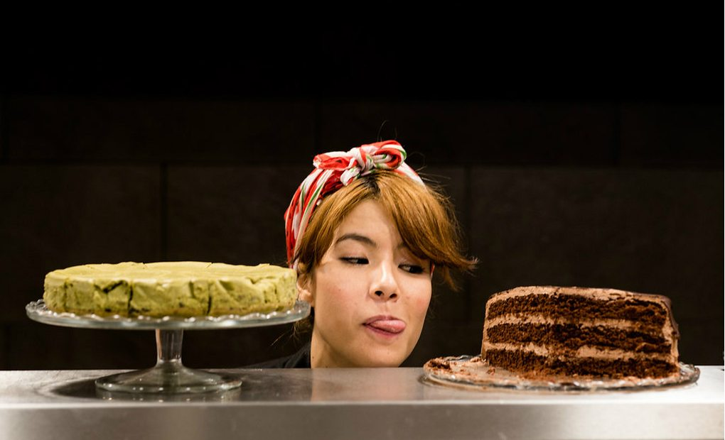 Tamara Ishihara, la cocinera de Okashi Sanda./ Fotos: Okashi Sanda.