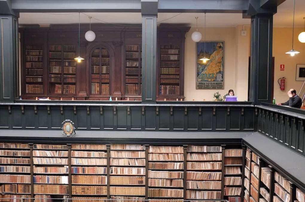 El hogar de libros con más de cinco siglos de historia. Foto: Biblioteca-Archivo Municipal de Jerez de la Frontera.