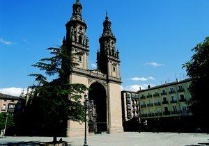 Concatedral de Santa María La Redonda. Foto cedida por: Turismo de La Rioja.