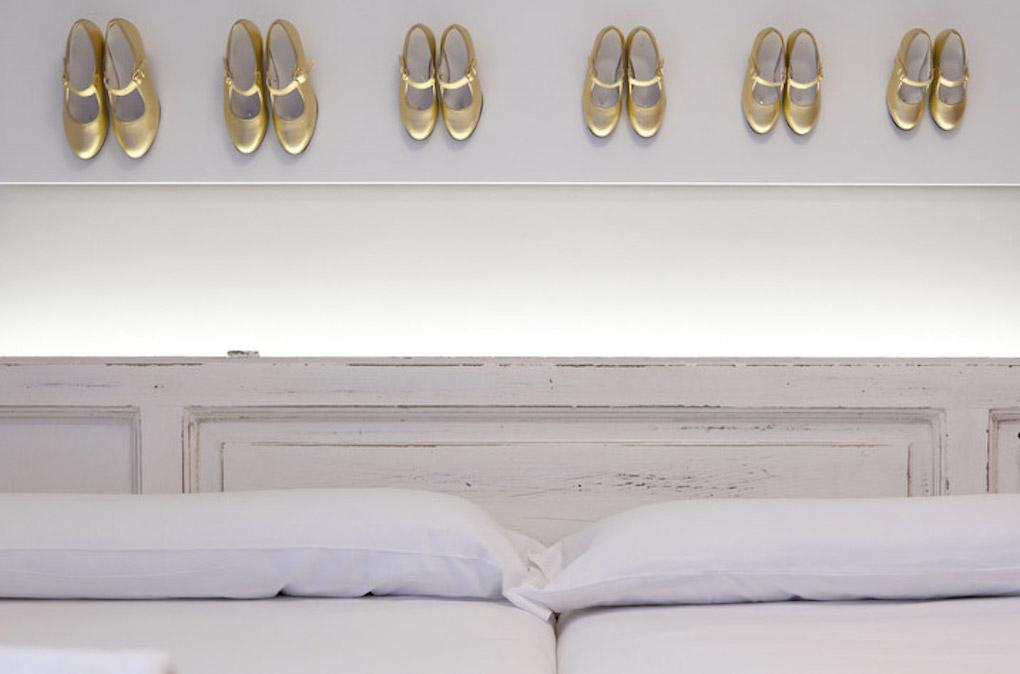 Una habitación individual de Lapepa Chic B&B. Foto: Facebook.