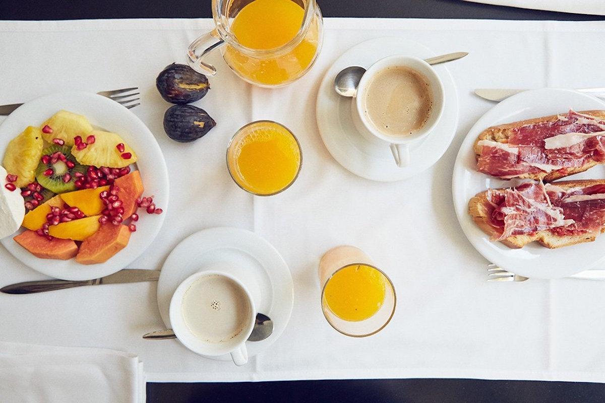 Un buen desayuno para empezar el día. Foto. Niwa Hotel Spa.