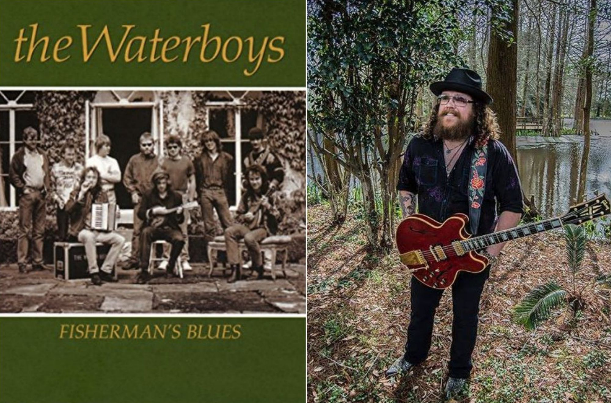 Músicos de Inglaterra, Escocia e Irlanda formaban esta banda legendaria. Fotos: Facebook The Waterboys.