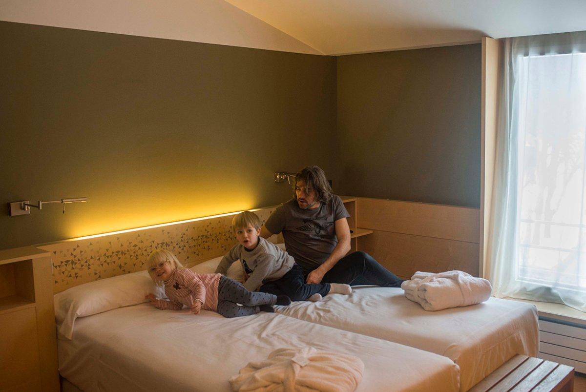Tres opciones de hoteles según el perfil del cliente.