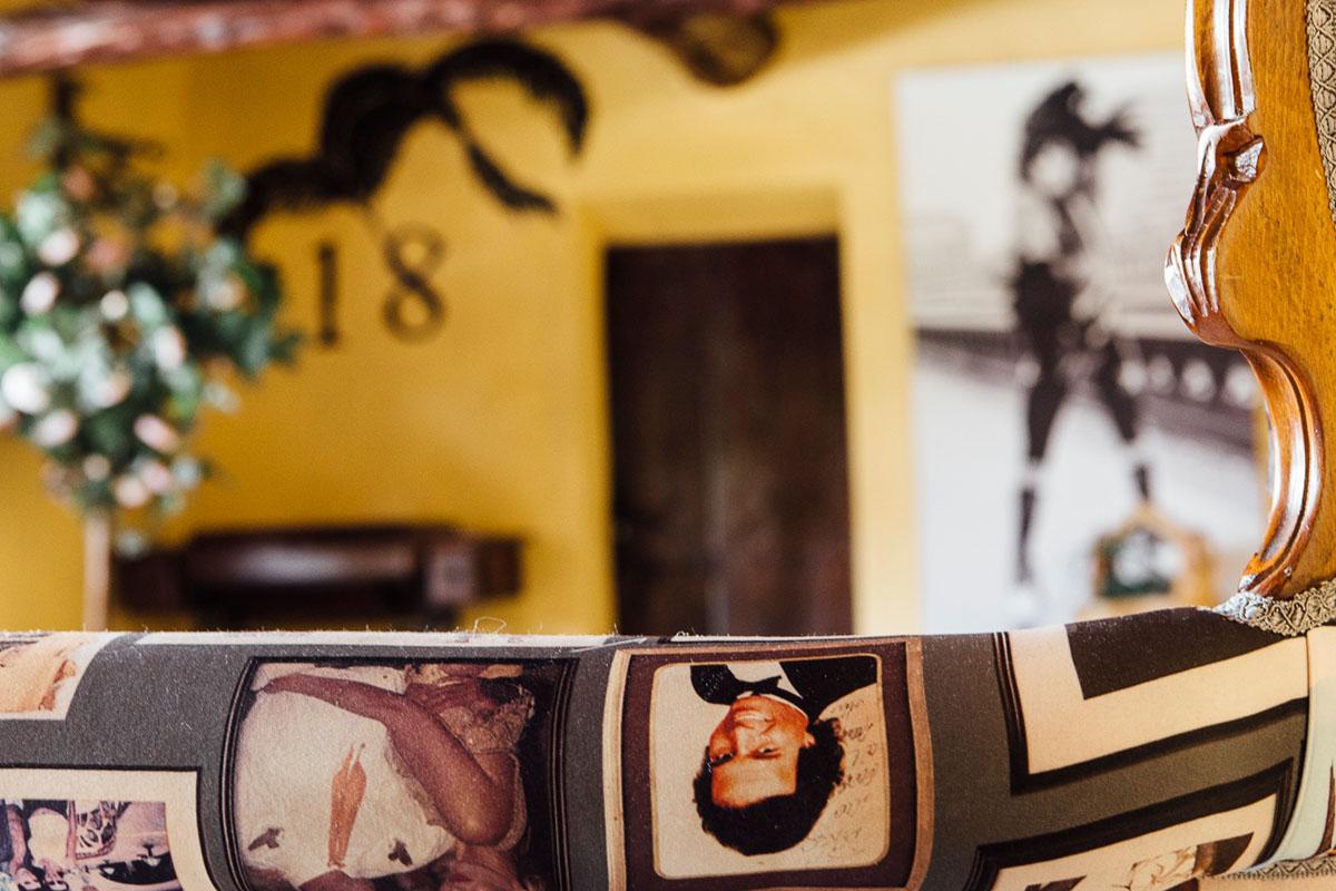Habitación 18, frecuentada por Julio Iglesias.
