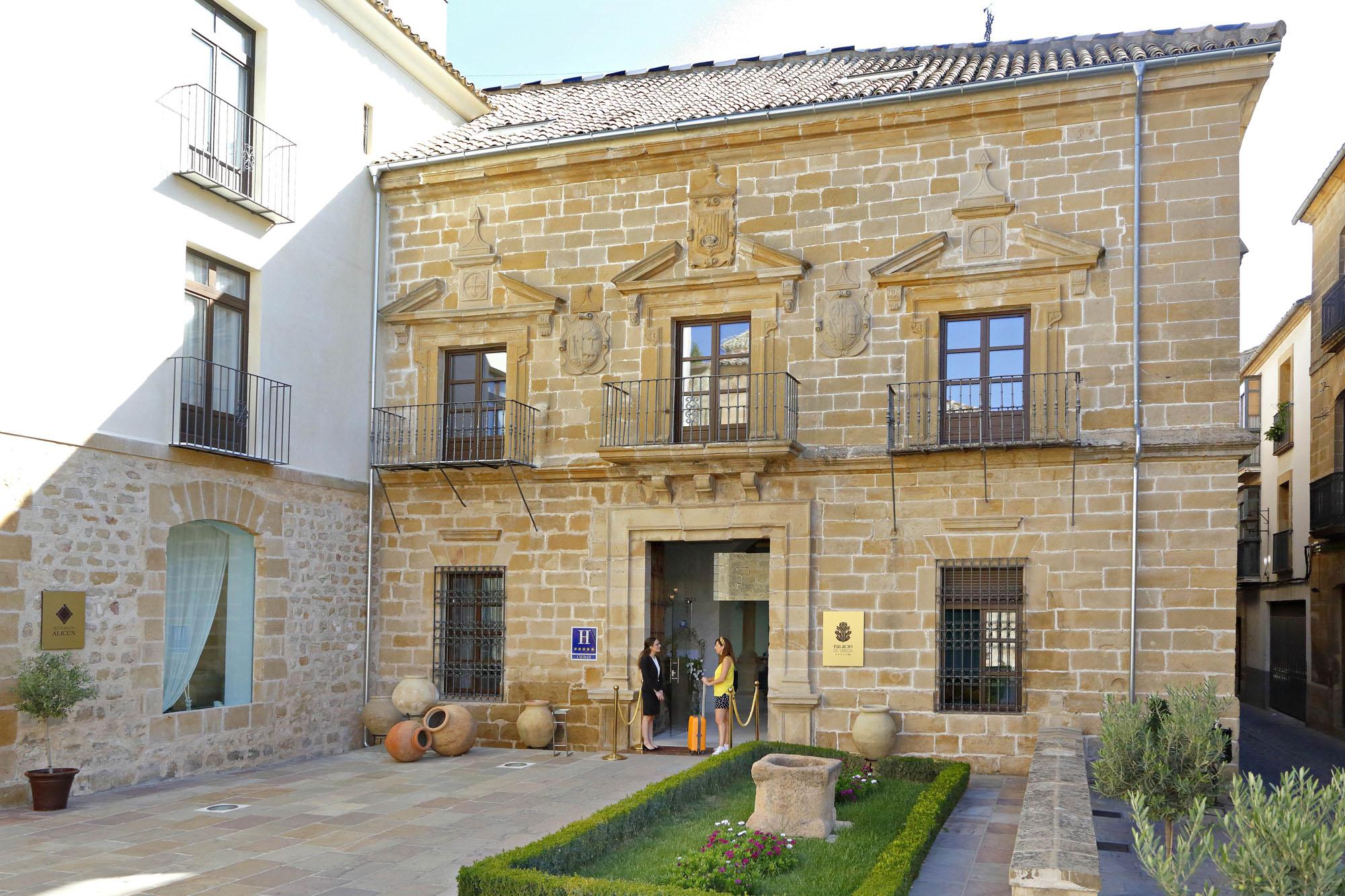 El hotel ocupa un antiguo palacio del siglo XVI.