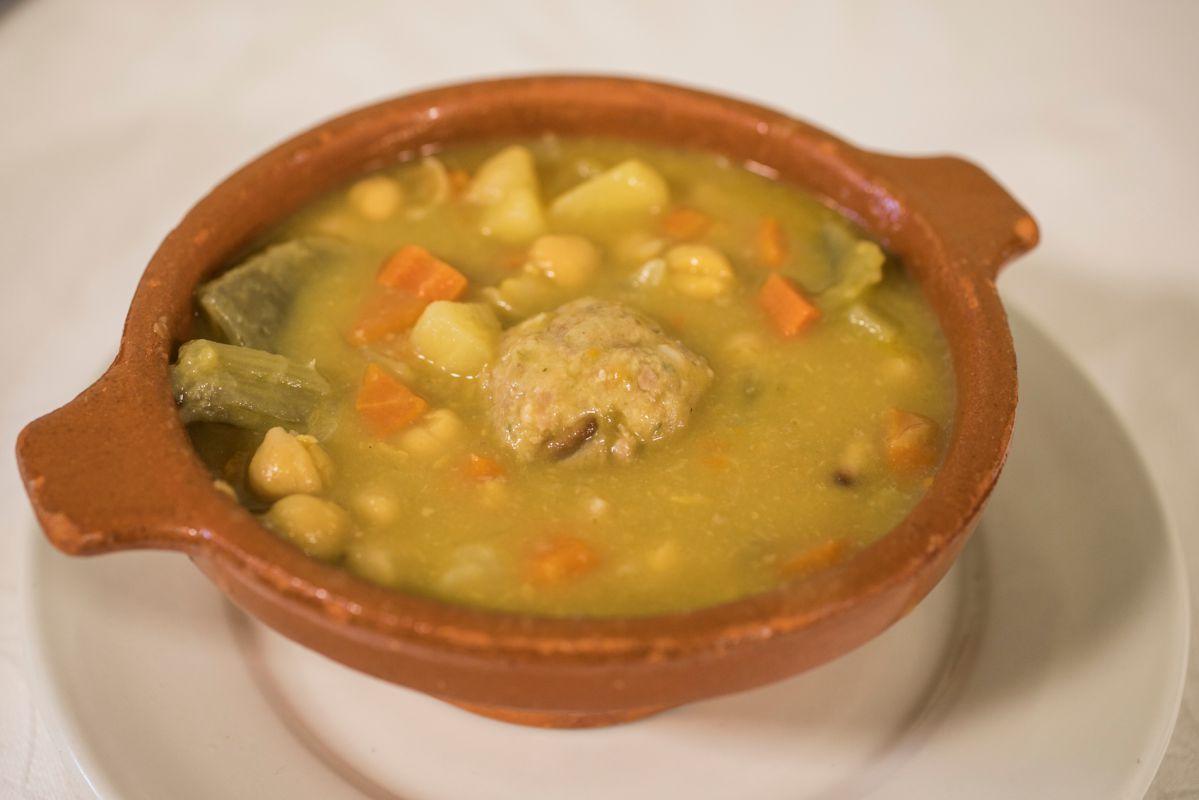 Un plato del restaurante La Carrasca en Culla, Alto Maestrazgo, Castellón. Foto: Eva Máñez