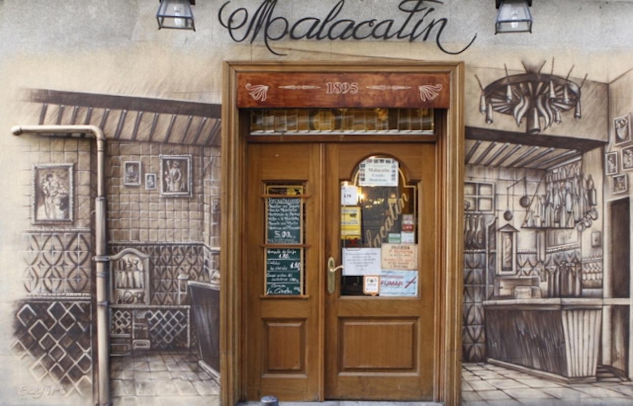 Restaurante Malacatín, Madrid.