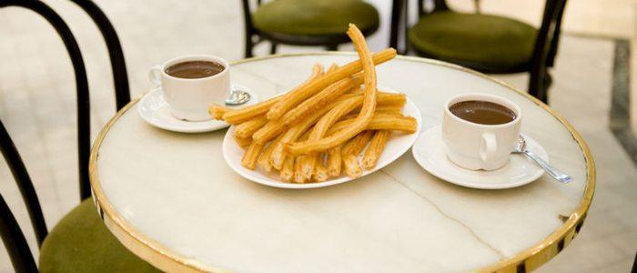 Chocolate con churros de San Ginés.