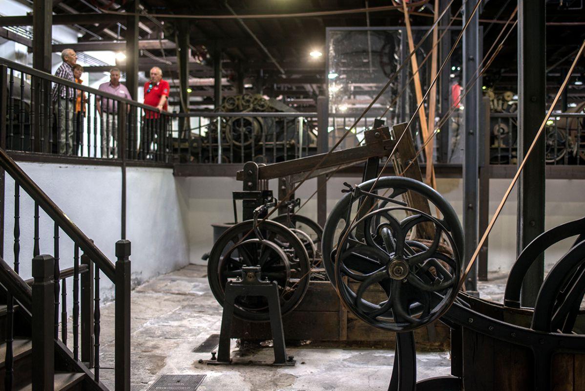 Las instalaciones de Boinas Elósegui recuerdan cómo era el trabajo en el siglo XIX.