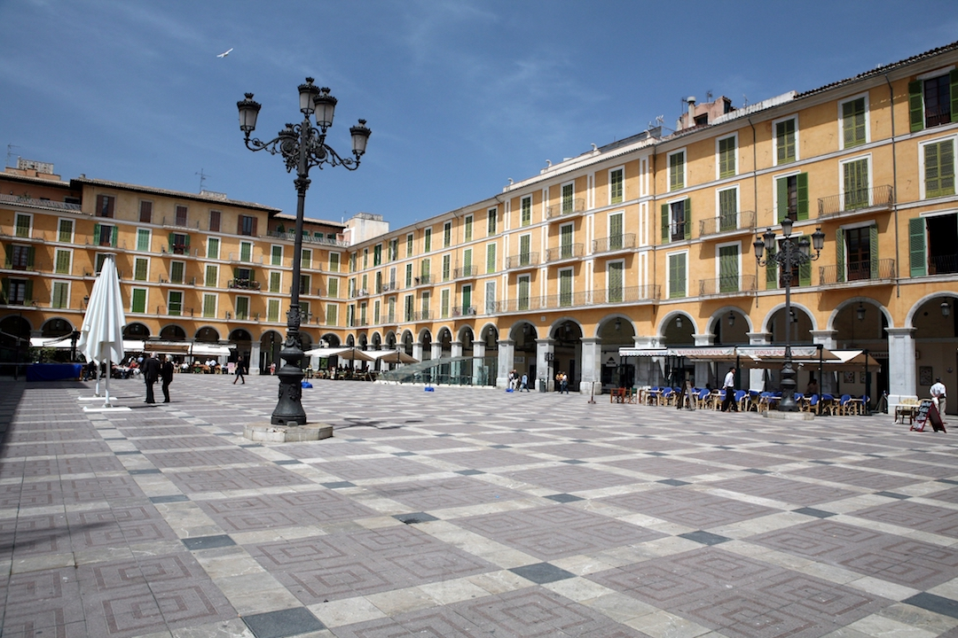 Plaza Mayor. Foto: Oficina de Turismo de Palma.