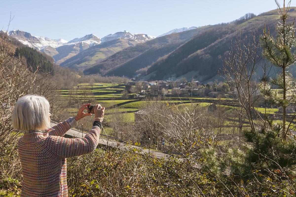 Valles del río Pas. Cantabria.