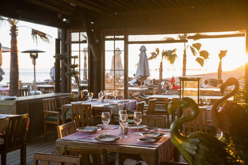 Trocadero Playa', el chiringuito marbellí que adoran muchos famosos (también por su cocina...). Foto: Facebook.