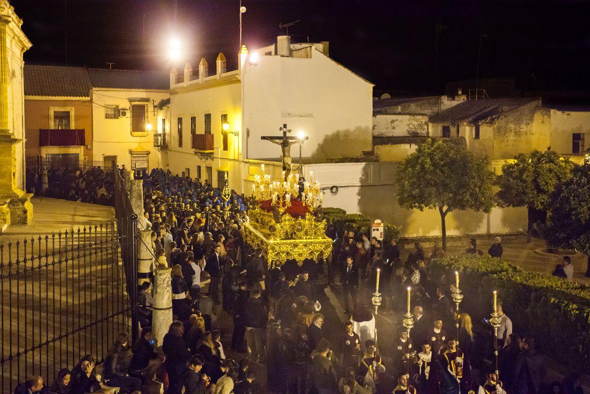 Cristo de los Gitanos, en la Madrugá de Utrera. Foto: Turismo de Utrera / Paco Álvarez.