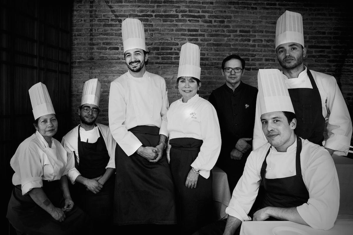 El equipo de 'Hortensio'. Foto: Restaurante Hortensio.