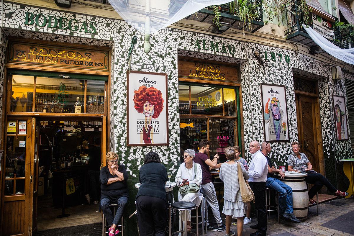 El Tubo, Zaragoza: 'Bodegas Almau' (apertura). Foto: Raquel Jiménez