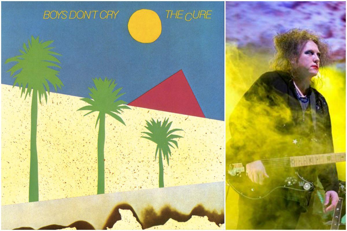 El tema Killing an arab, inspirado en 'El Extranjero' se incluyó en este disco, 'Boys don't cry'. Fotos: Facebook.
