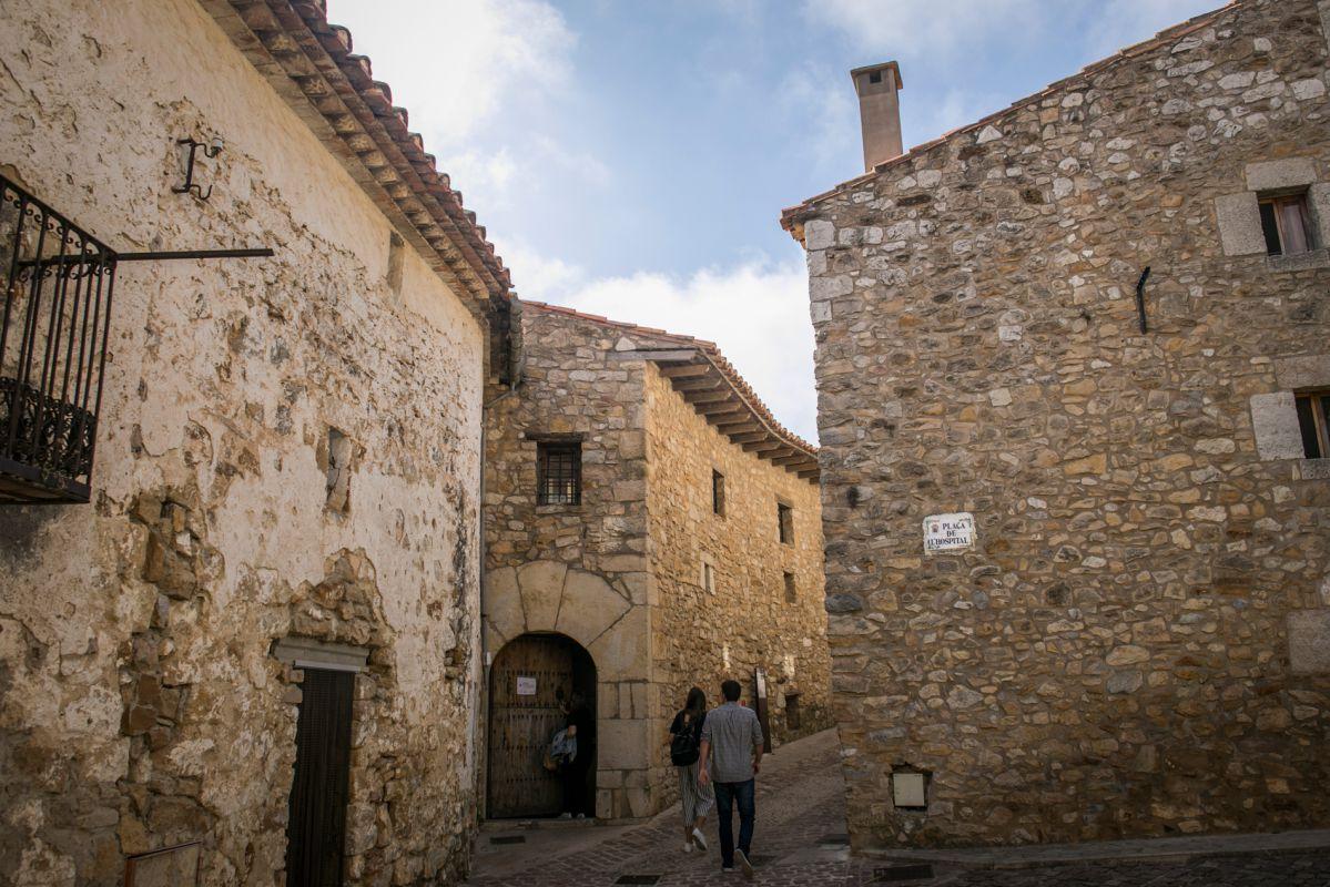 Calles de Culla, Alto Maestrazgo, Castellón. Foto: Eva Máñez