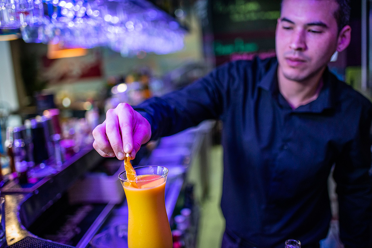 Uno de los éxitos garantizados es el frutal pasión inca, con maracuyá y mango.