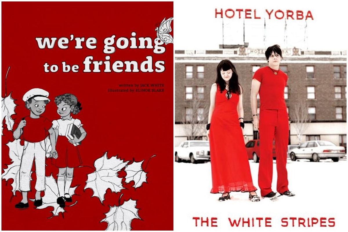 La actividad de The White Stripes se desarrolló desde 1997 a 2011. Foto: The White Stripes.
