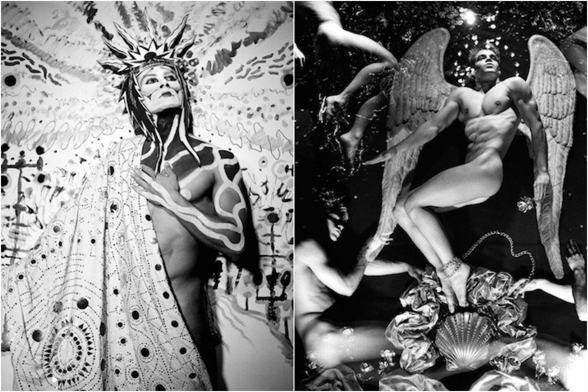 Dos de las obras de Steven Arnold de la exposición 'Revelations'. Fotos: Espacio Mínimo.