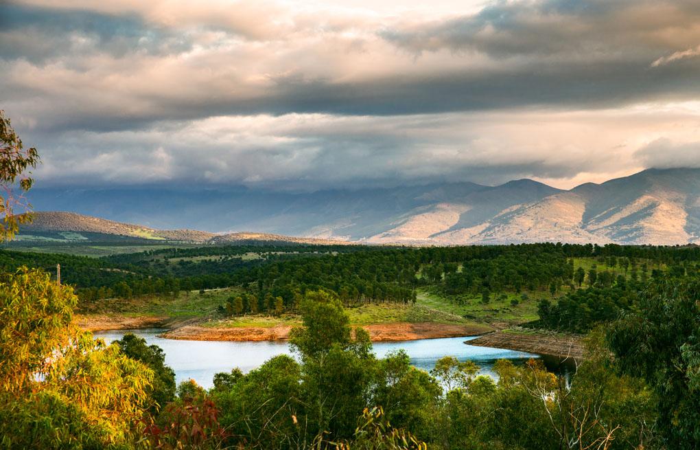 Vista panorámica de Bosques de Ambroz. Foto: Shutterstock