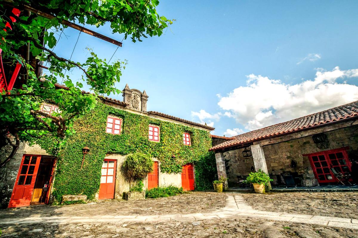 El exterior de la casa principal. Foto: Casa Grande de Rosende.