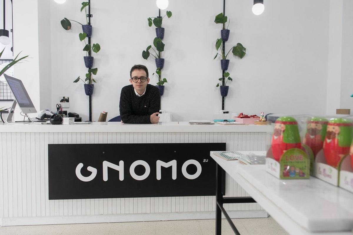 Gnomo, Una tienda ecléctica con regalos muy selectos.