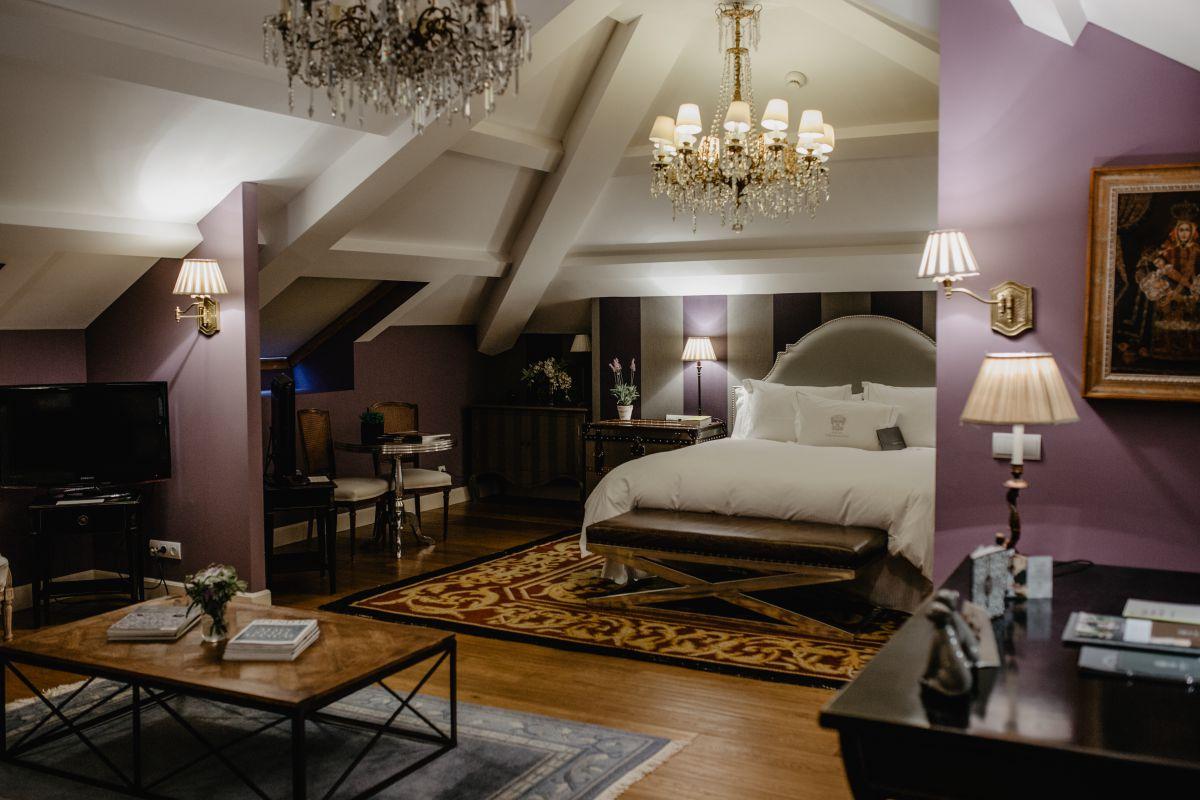 Vista de una de las 'suites' donde se mezclan estilos de forma armoniosa.