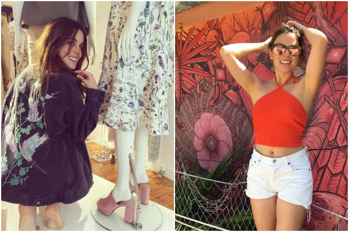 Adriana Ugarte aprovecha para ir de compras siempre que puede