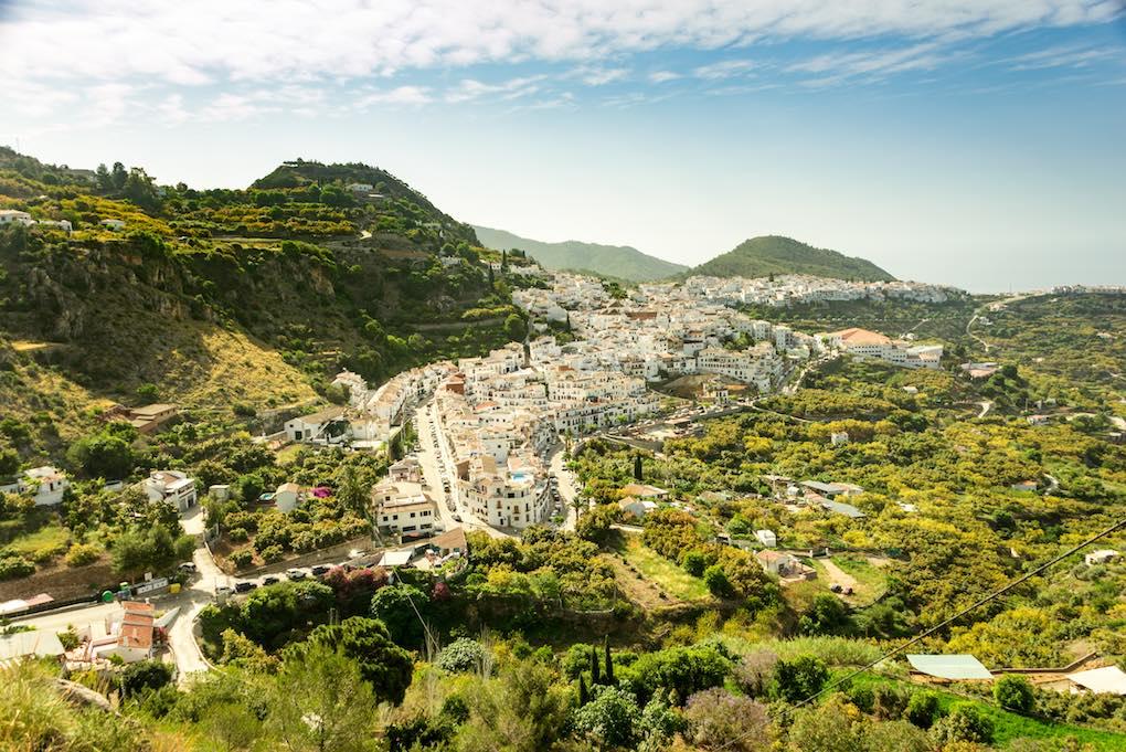 Vista de Frigiliana. Foto: Shutterstock.
