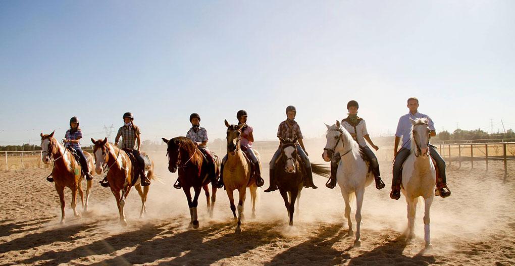 El caballo es el mejor amigo de un cowboy. Foto: El Encuentro.