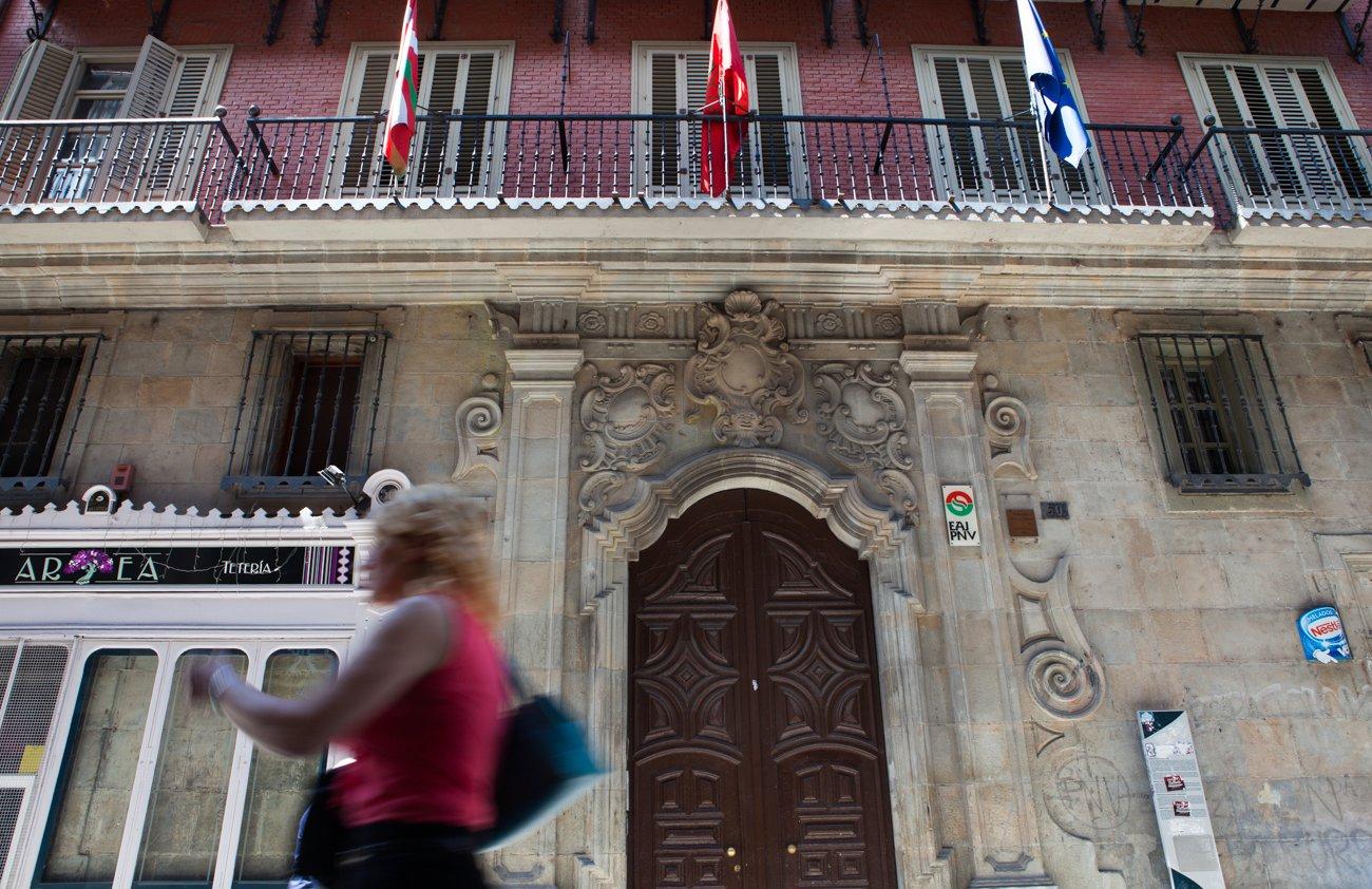 Pamplona - Palacio de los Navarro Tafalla