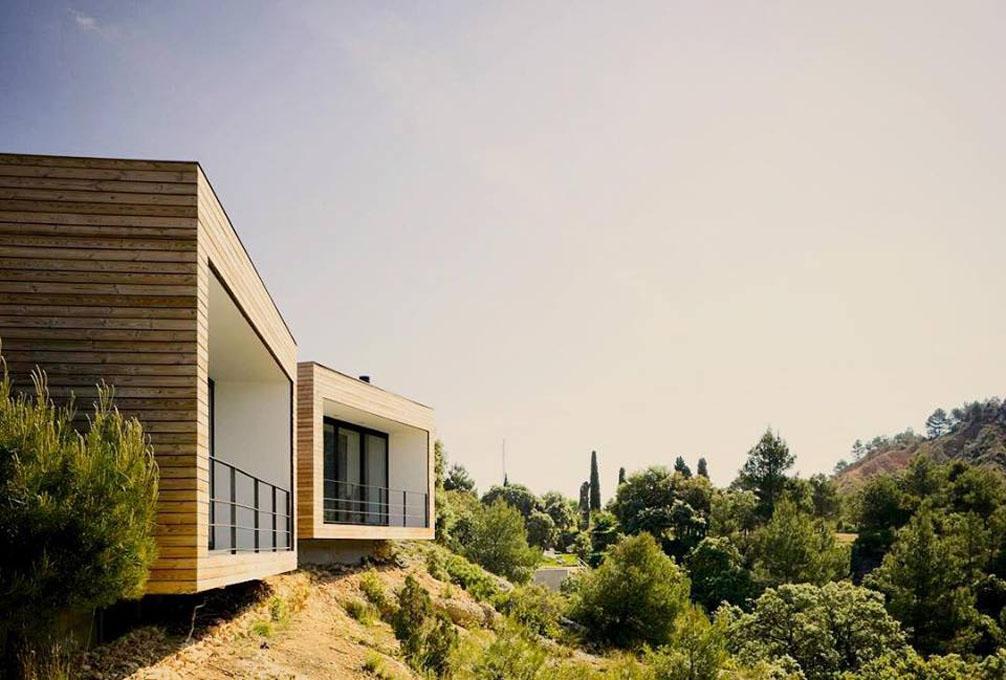 Un hotel de diseño en plena naturaleza. Foto: Facebook