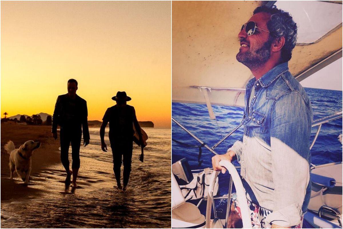 El mar que tanto inspira a Carlos. Foto: Facebook.