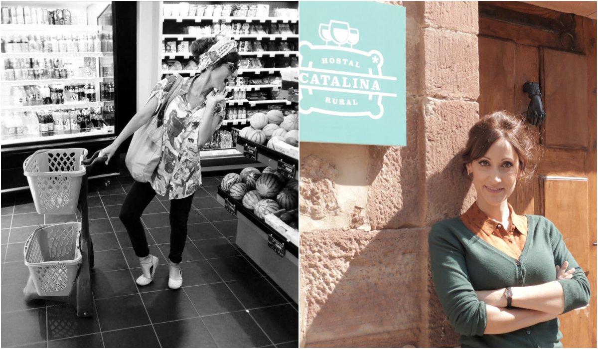 Apasionada de las compras en el mercado. Foto: @ana_morgade_oficial (Instagram)