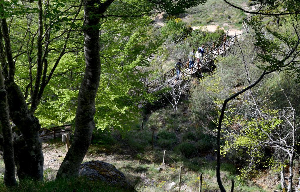 En Covalagua podemos hacer senderismo, e incluso un pícnic o merienda campestre.