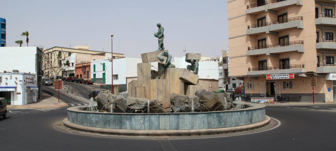 Fuente de la Explanada en Puerto del Rosario (Fuerteventura)