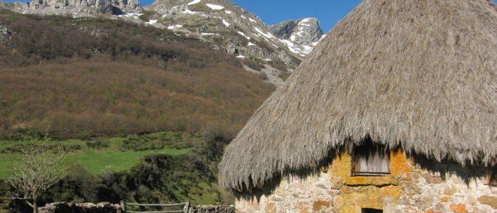 Teito típico asturiano.